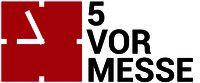 Logo 5-vor-Messe | Weltweite Veranstaltungs- & Messelogistik